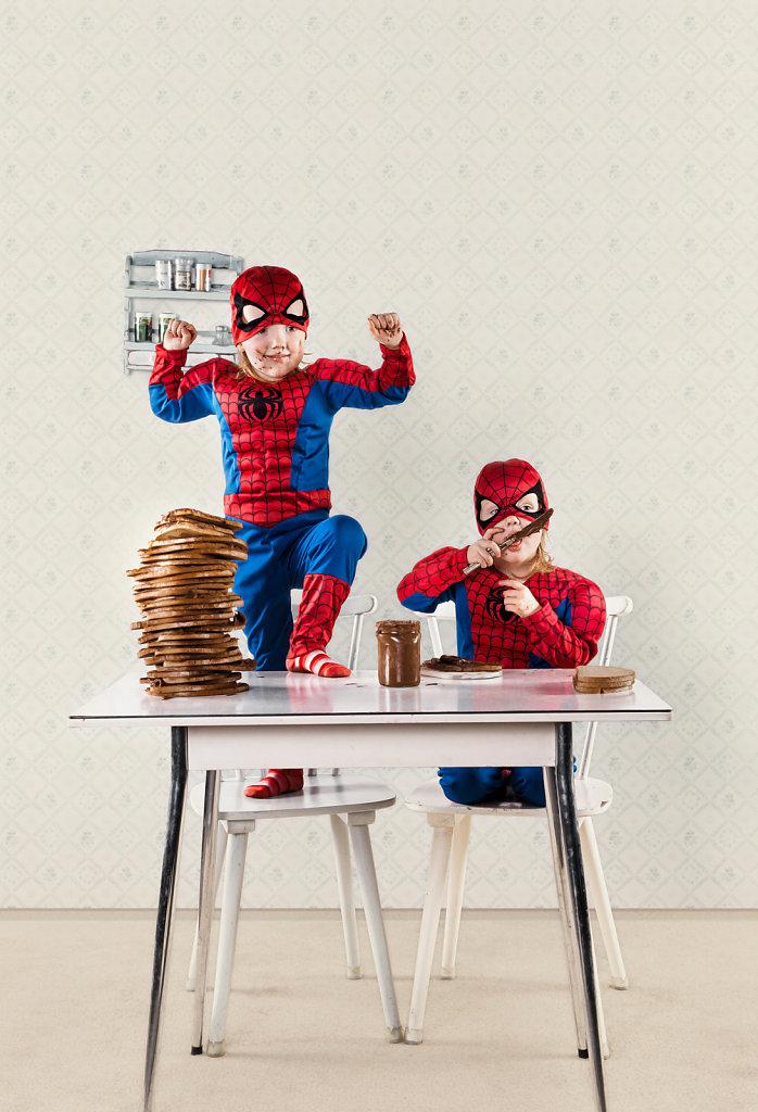 Spider-Twins - free Work